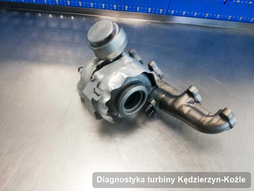 Turbosprężarka po przeprowadzeniu zlecenia Diagnostyka turbiny w pracowni regeneracji z Kędzierzyna-Koźla z przywróconymi osiągami przed spakowaniem