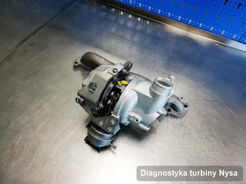 Turbosprężarka po zrealizowaniu zlecenia Diagnostyka turbiny w przedsiębiorstwie z Nysy w doskonałym stanie przed wysyłką