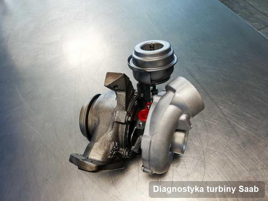 Turbina do auta osobowego firmy Saab naprawiona w firmie gdzie wykonuje się usługę Diagnostyka turbiny