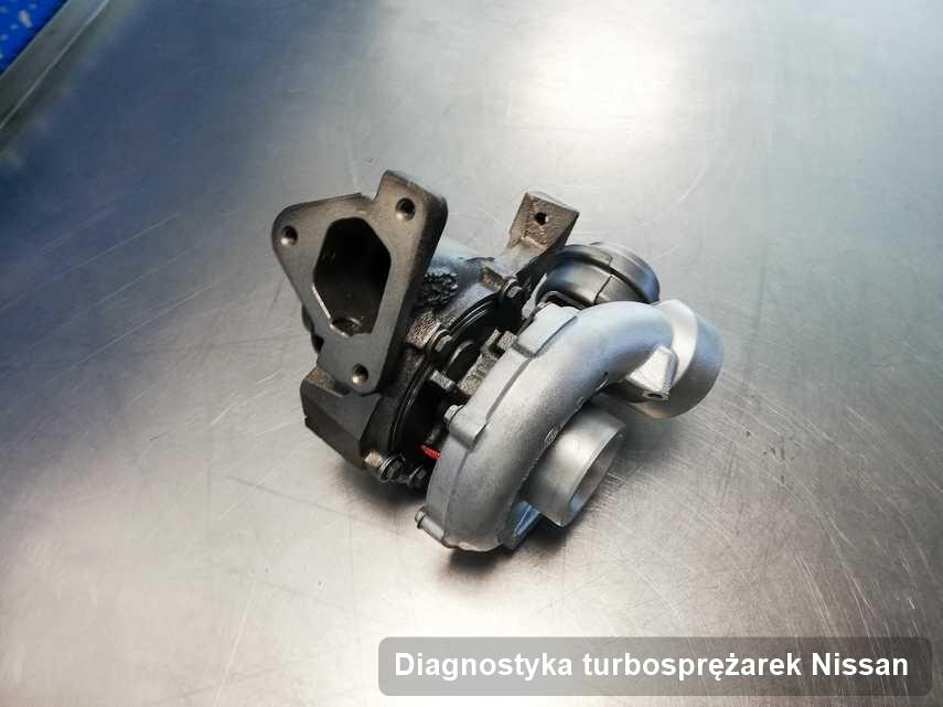 Turbina do pojazdu marki Nissan naprawiona w warsztacie gdzie zleca się usługę Diagnostyka turbosprężarek