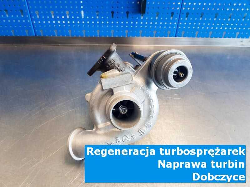 Turbina po wymianie w laboratorium z Dobczyc