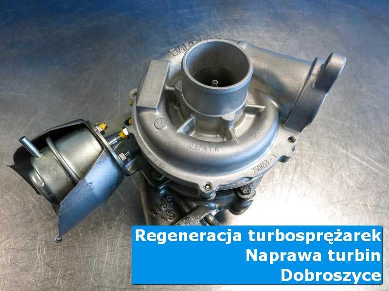 Turbosprężarka przed wysyłką w laboratorium w Dobroszycach