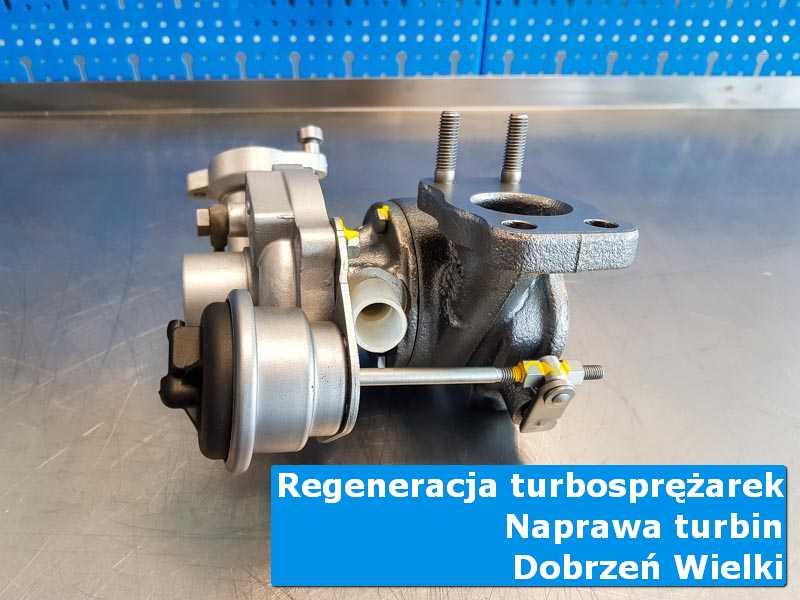 Turbosprężarka po wyważaniu u specjalistów z Dobrznia Wielkiego