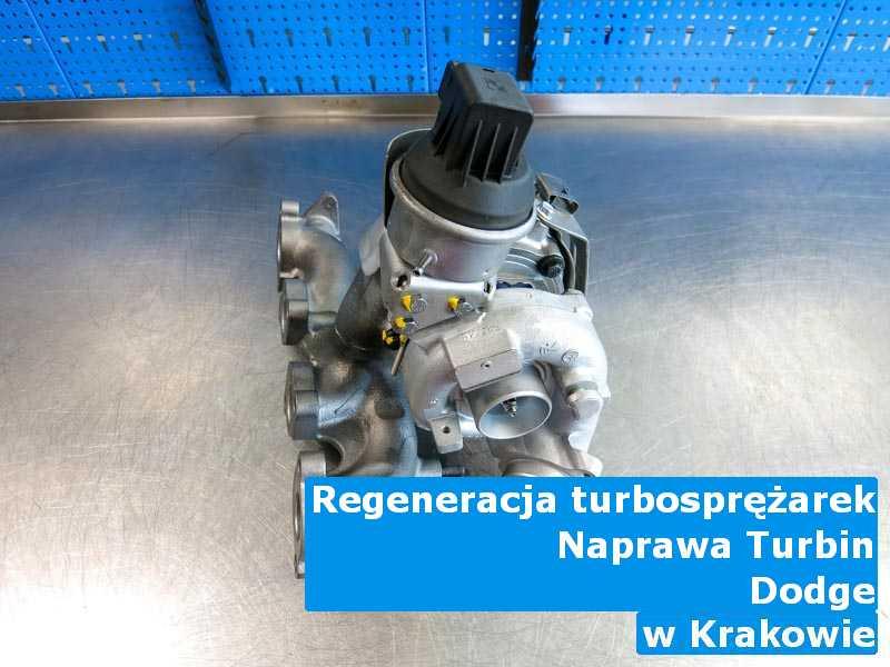 Turbo z pojazdu marki Dodge wysłane do warsztatu w Krakowie