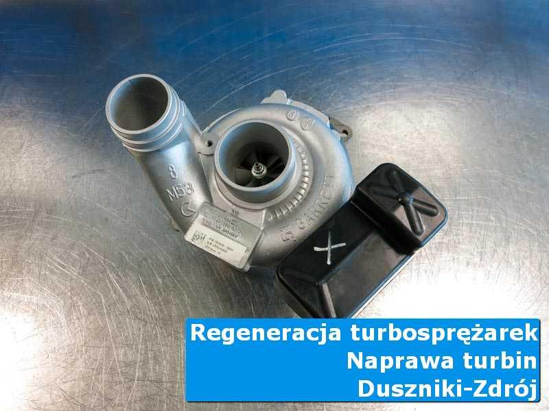 Turbosprężarka po wizycie w ASO w autoryzowanym serwisie z Dusznik-Zdroju