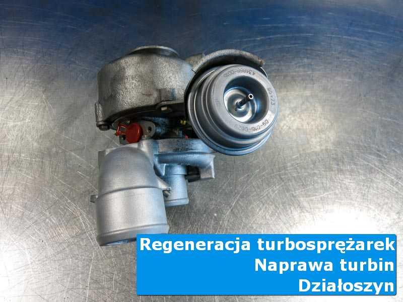 Turbosprężarka po serwisie w pracowni z Działoszyna