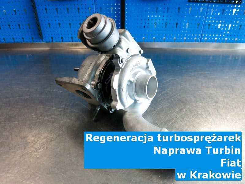 Turbosprężarki z auta Fiat po procesie regeneracji pod Krakowem