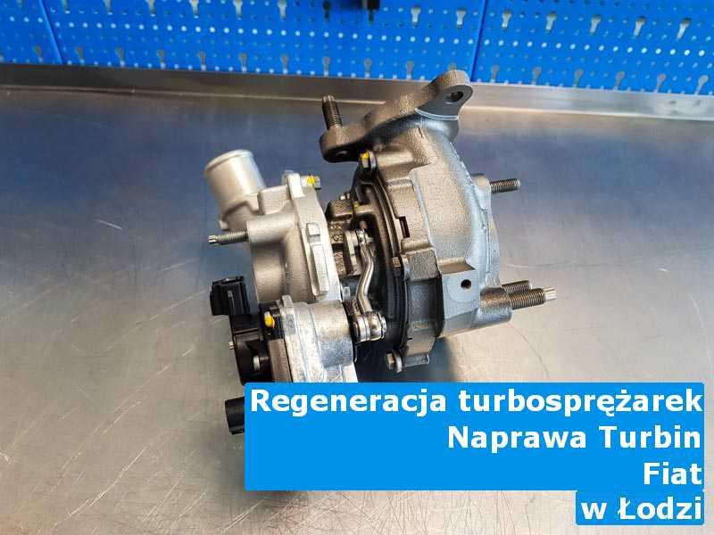 Turbosprężarka marki Fiat do regeneracji z Łodzi