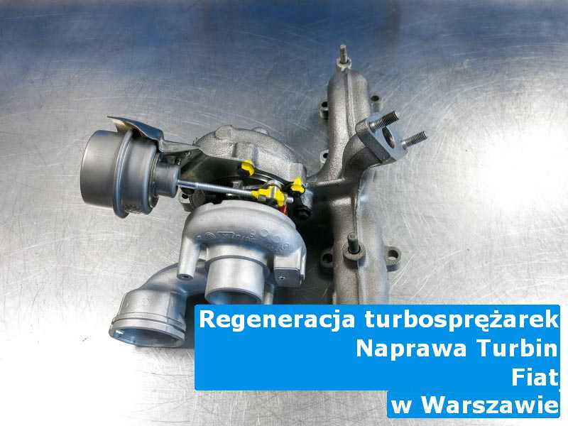 Turbosprężarka z samochodu Fiat przywrócona do pełnej sprawności w Warszawie
