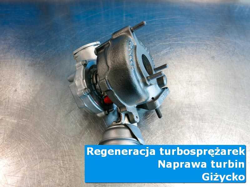 Turbosprężarka po wyważaniu w autoryzowanej pracowni z Giżycka