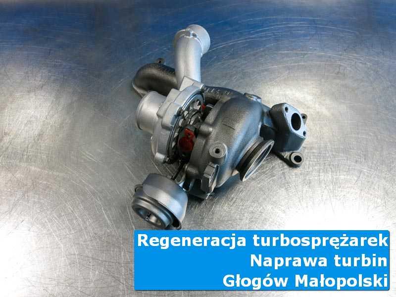 Turbosprężarka po naprawie w autoryzowanym serwisie z Głogowa Małopolskiego