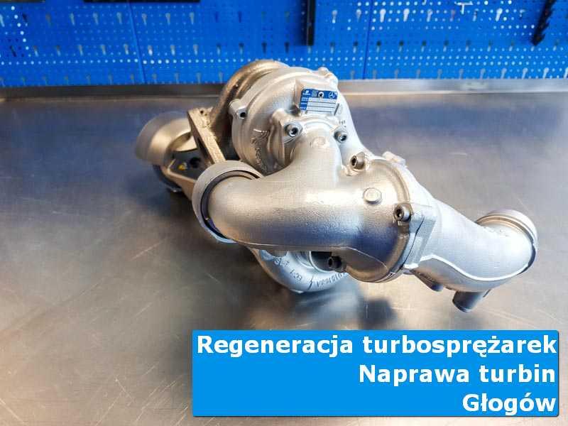 Turbosprężarka po naprawie w pracowni w Głogowie