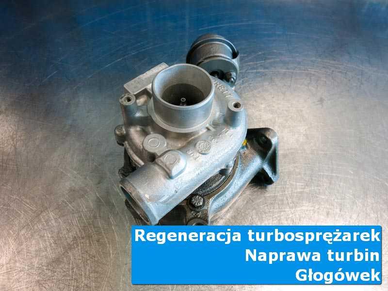 Turbo po regeneracji na stole w laboratorium w Głogówku