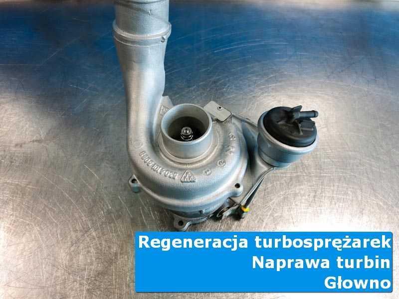 Turbosprężarka po przywróceniu sprawności u specjalistów w Głownie