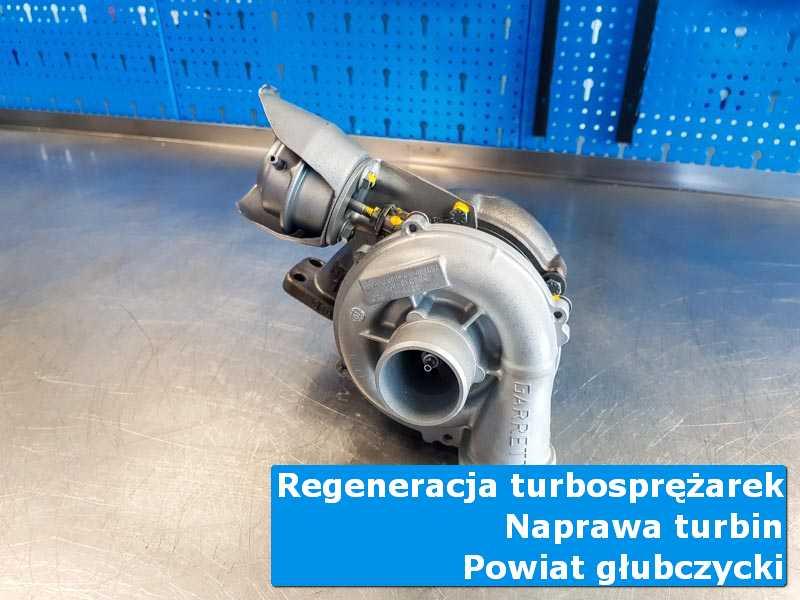 Turbina po regeneracji w nowoczesnej pracowni, powiat głubczycki