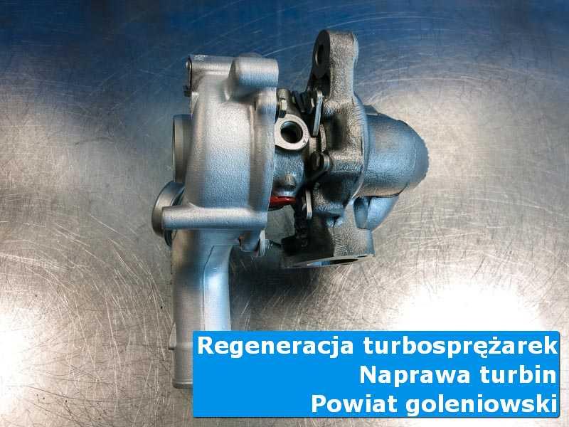 Turbina po przywróceniu sprawności w nowoczesnej pracowni, powiat goleniowski
