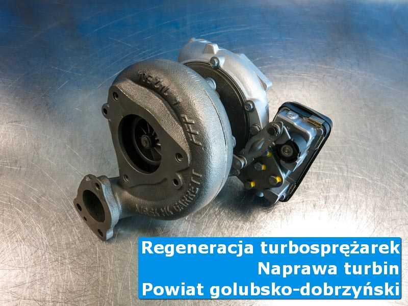Turbosprężarka po przywróceniu sprawności w warsztacie, powiat golubsko-dobrzyński