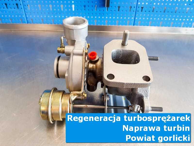 Turbina po naprawie w autoryzowanej pracowni, powiat gorlicki