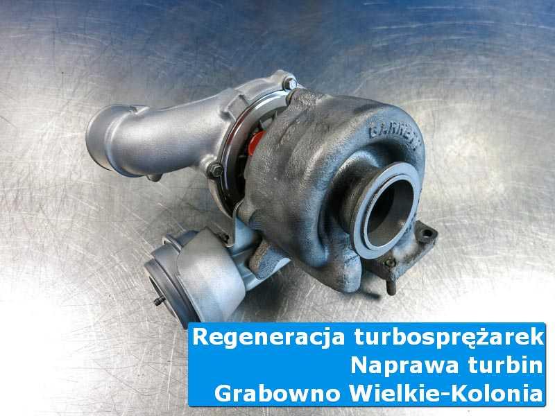 Turbina po przygotowaniu w autoryzowanej pracowni w Grabownie Wielkim (Kolonia)
