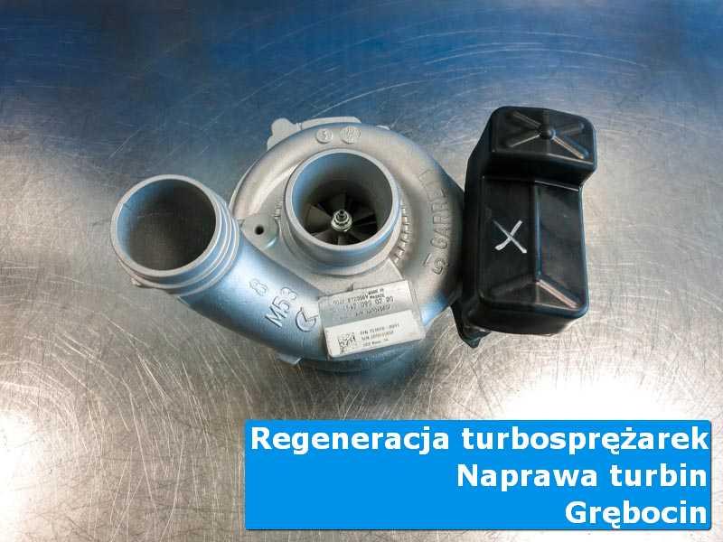 Turbosprężarka po wyważaniu w autoryzowanym serwisie w Grębocinie