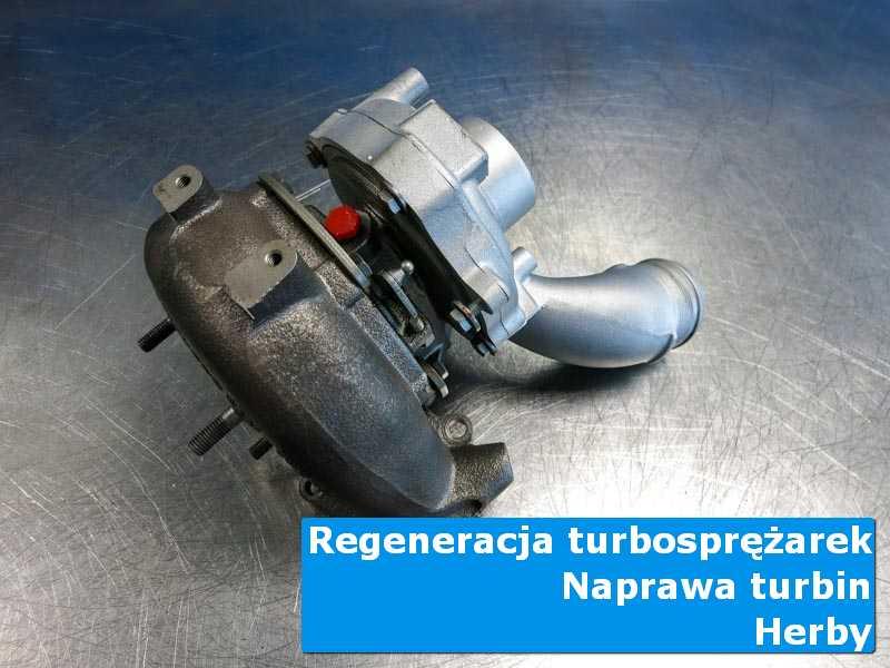 Turbosprężarka po wyważaniu w laboratorium z Herb