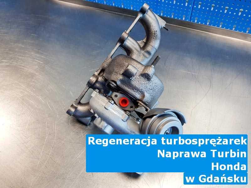 Turbosprężarki marki Honda zregenerowane pod Gdańskiem