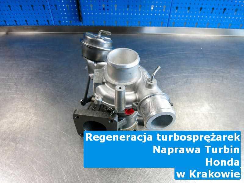 Turbo z samochodu Honda wysłane do diagnostyki w Krakowie
