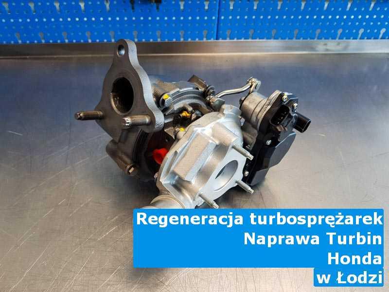 Turbosprężarki marki Honda dostarczone do zakładu regeneracji pod Łodzią