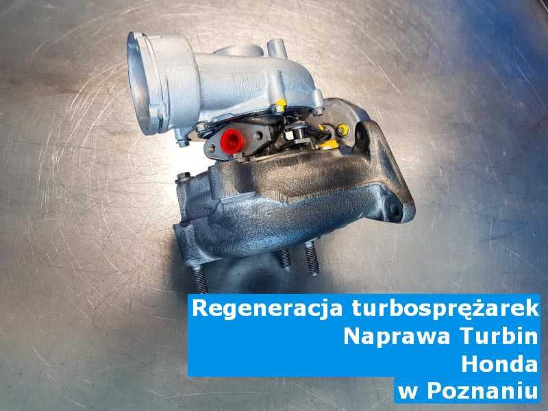 Turbosprężarki z pojazdu marki Honda po procesie regeneracji w Poznaniu