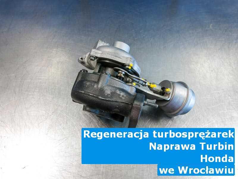 Turbina marki Honda zdemontowana pod Wrocławiem