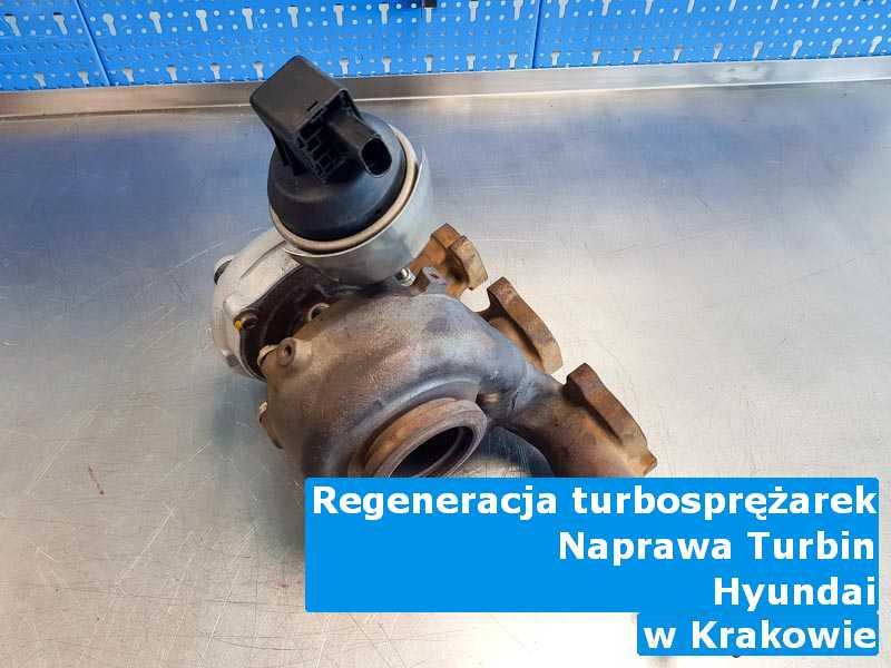 Turbosprężarka z pojazdu marki Hyundai przed wysyłką w Krakowie