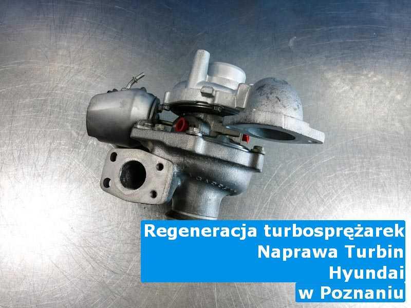 Turbiny z auta Hyundai wysłane do regeneracji z Poznania
