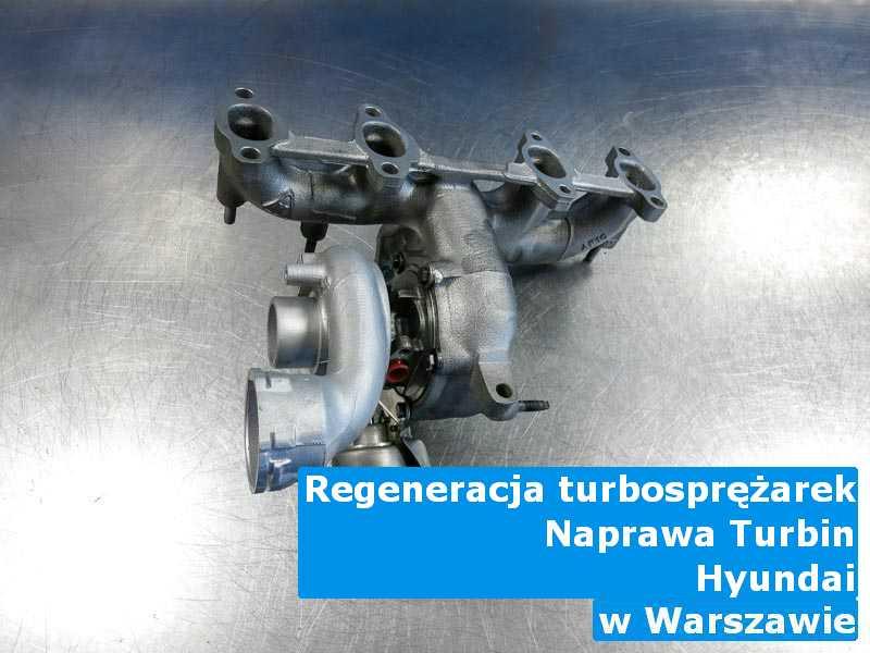 Turbosprężarki marki Hyundai po wizycie w warsztacie z Warszawy