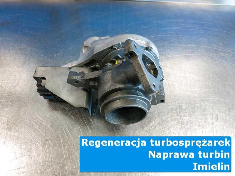 Turbosprężarka po naprawie w warsztacie z Imielina