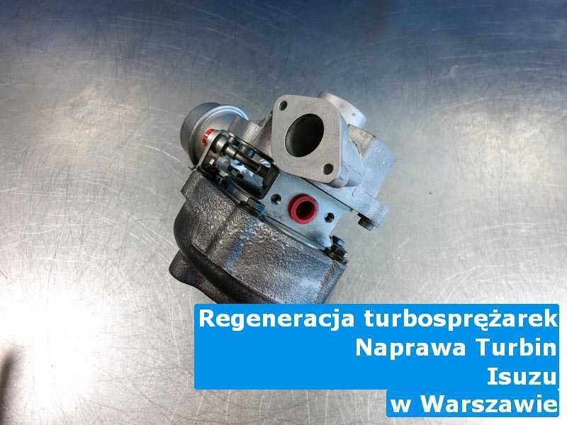 Turbosprężarki z pojazdu marki Isuzu do wymiany z Warszawy