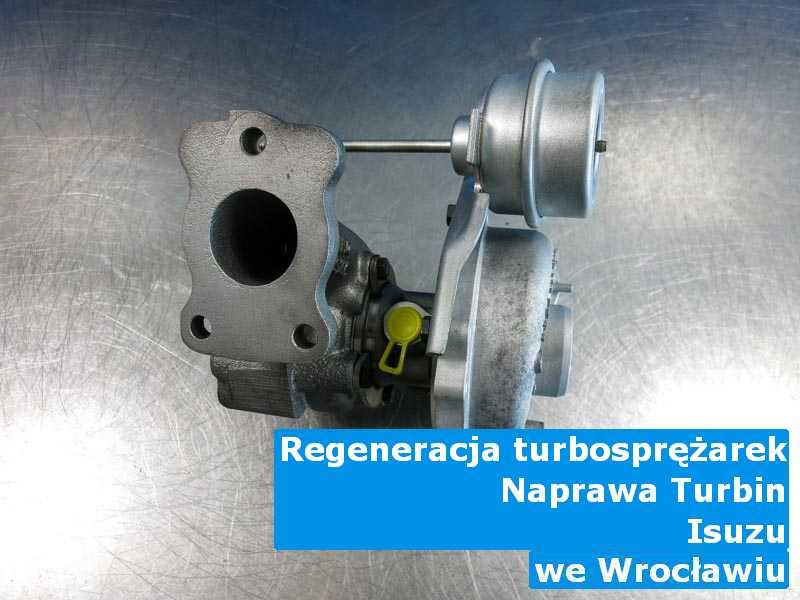 Turbosprężarki z samochodu Isuzu wysłane do regeneracji w Wrocławiu
