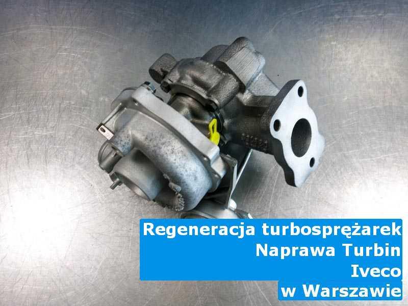 Turbiny z samochodu Iveco wyregulowane w Warszawie