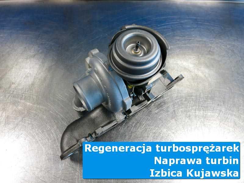 Turbina po wymianie w specjalistycznej pracowni z Izbicy Kujawskiej