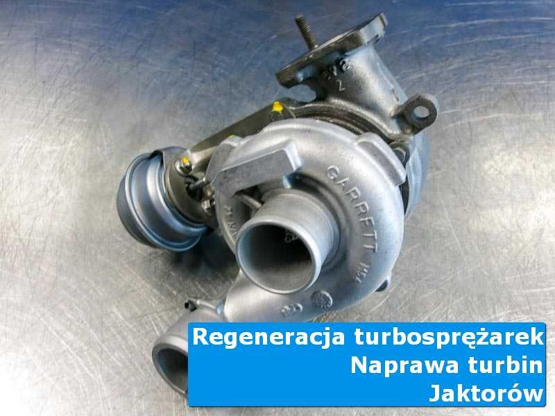 Turbina po wymianie w autoryzowanej pracowni z Jaktorowa