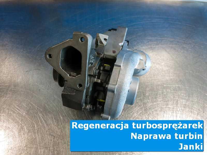 Turbosprężarka po wyważaniu w autoryzowanej pracowni w Jankach