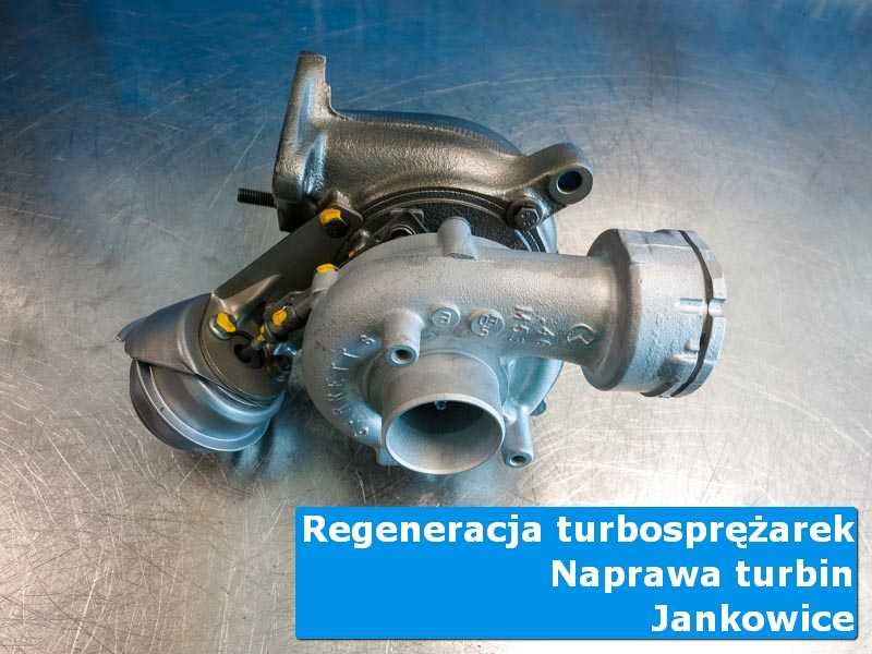 Turbina po regeneracji w laboratorium z Jankowic