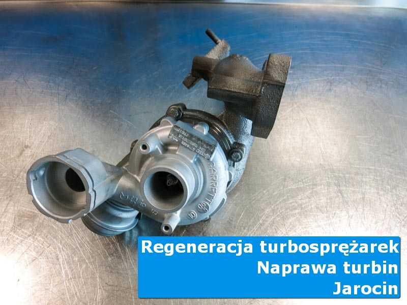 Turbosprężarka po wizycie w ASO w autoryzowanej pracowni z Jarocina