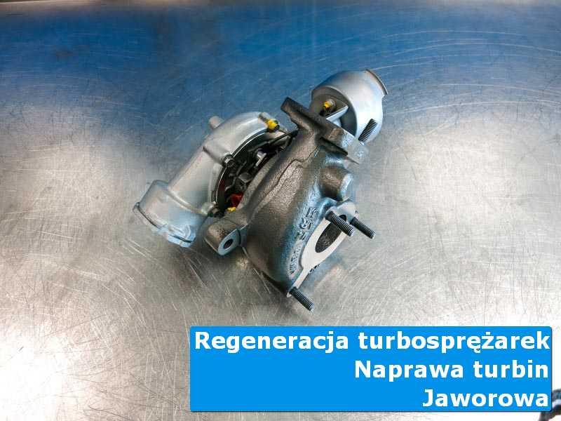 Turbosprężarka po wyważaniu w laboratorium w Jaworowej