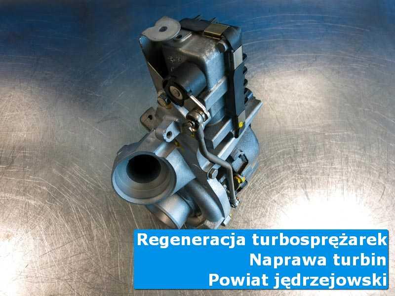 Turbina po naprawie w specjalistycznej pracowni, powiat jędrzejowski