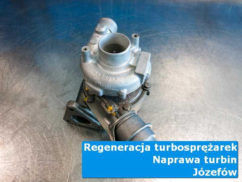 Turbosprężarka po czyszczeniu w profesjonalnym serwisie w Józefowie