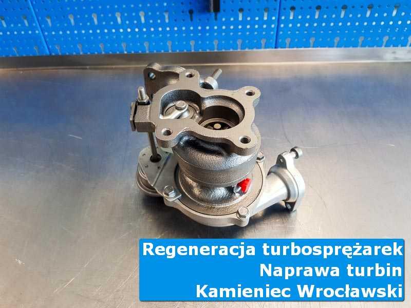 Turbosprężarka po serwisie w warsztacie w Kamieńcu Wrocławskim