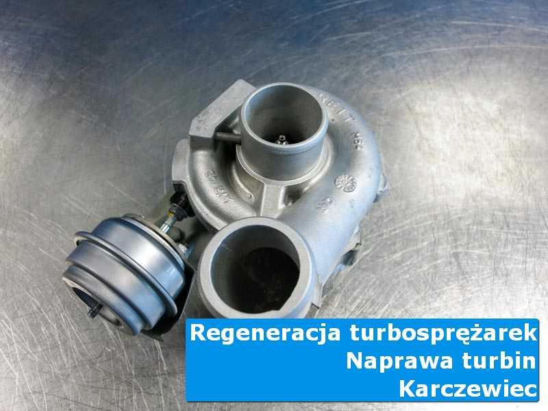 Turbosprężarka po serwisie w autoryzowanej pracowni w Karczewcu