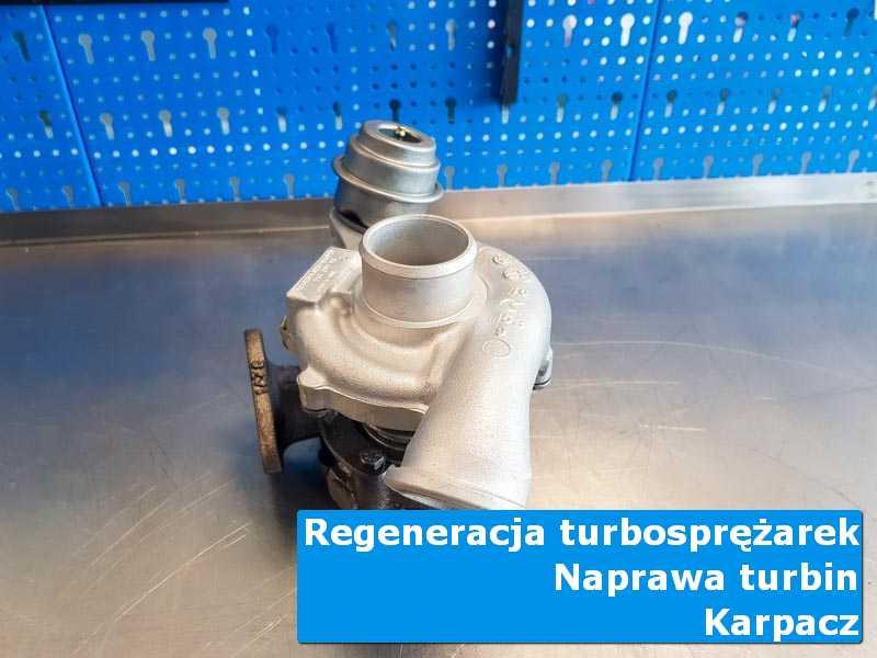 Turbina po wizycie w ASO w autoryzowanym serwisie w Karpaczu