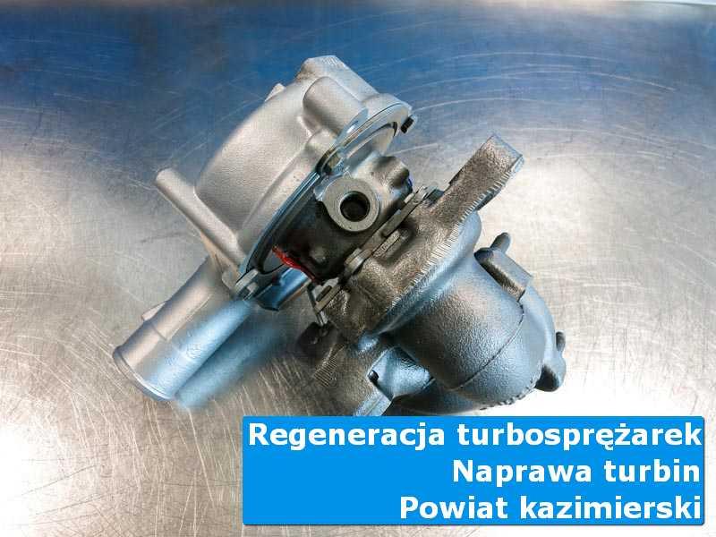 Turbosprężarka po regeneracji w specjalistycznej pracowni, powiat kazimierski