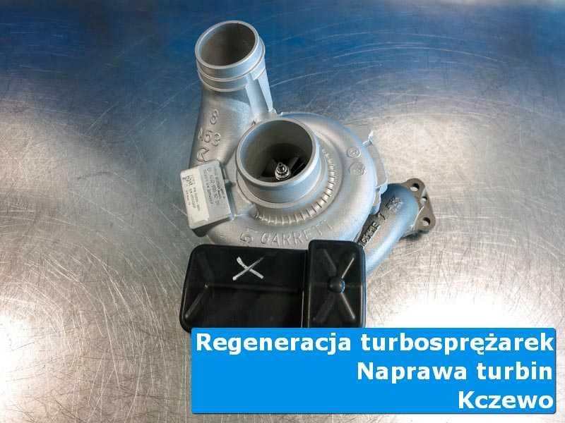 Turbosprężarka po wizycie w ASO w laboratorium w Kczewie